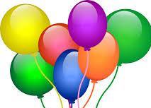 Celebratory balloons