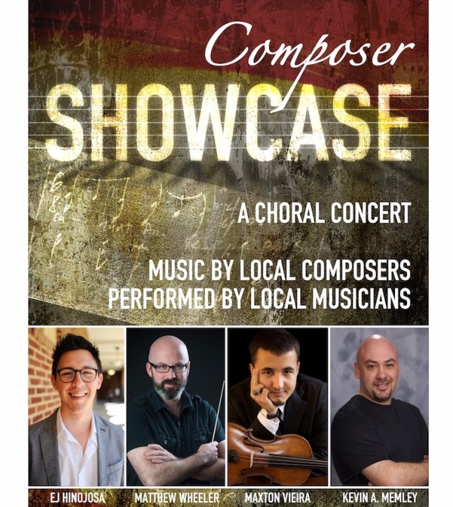 Poster for Composer Showcase