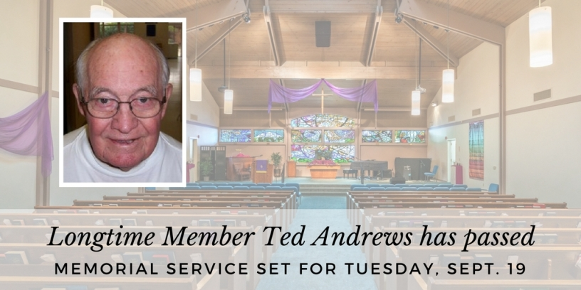 Memorial Service for Ted Andrews