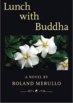 """Book cover """"Lunch with Buddha"""""""