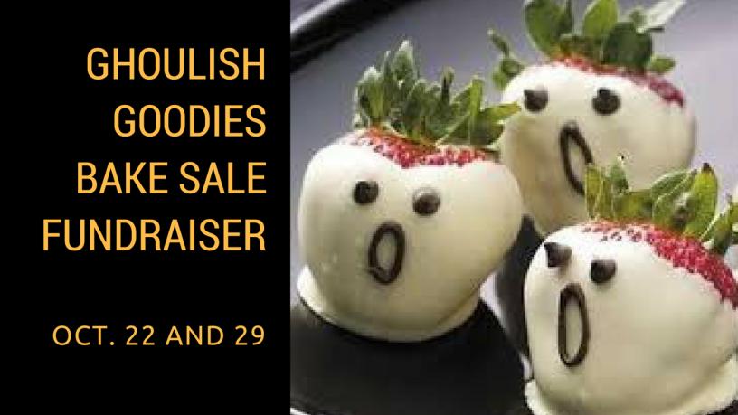 Ghoulish Goodies Bake Sale