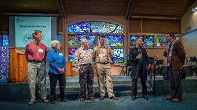 New members join our congregation at Community UCC