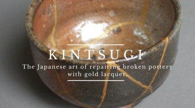 Kintsugi: The Japanese art of repairing broken pottery with gold lacquer