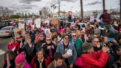 Fresno Women's March 2017