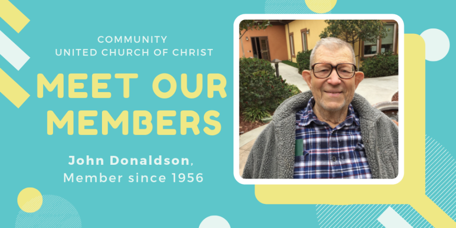 Meet Our Members - John Donaldson