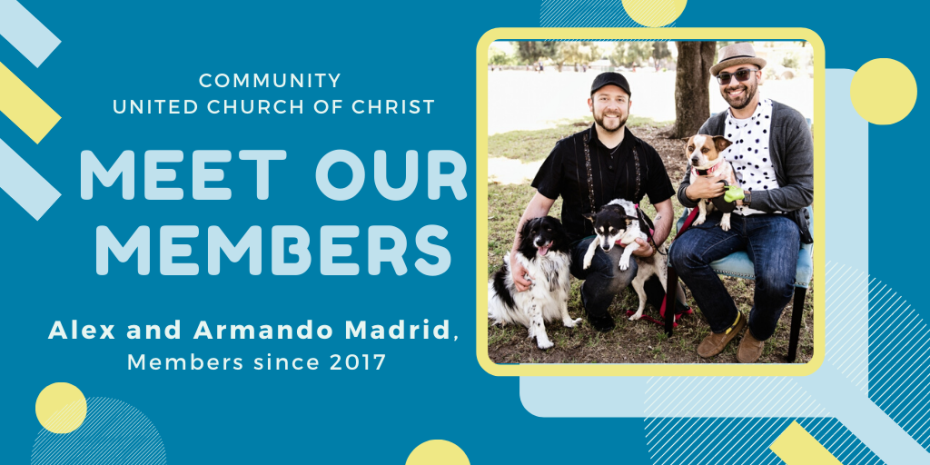 Meet our Members - Alex and Armando Madrid