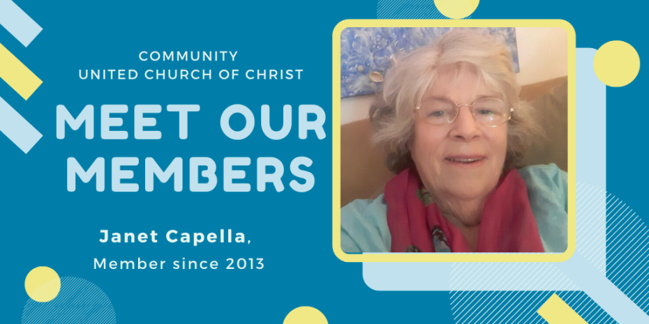 Meet Our Members - Janet Capella